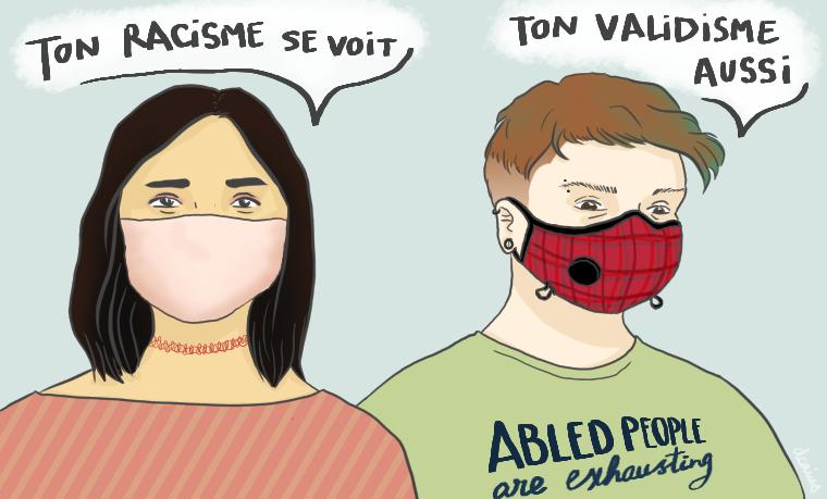 Le validisme en période d'épidémie